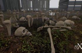 ue4商城资源Skull Package骷髅包