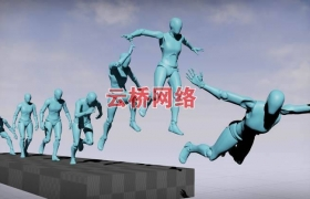 ue4商城资源Realistic Female Player Anims现实女性玩家动画