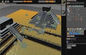 Vue与C4D整合培训视频教程
