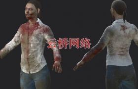 ue4商城资源NPC Zombie Woman 女僵尸