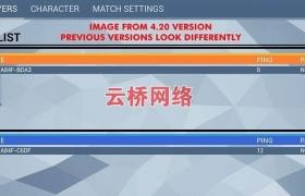 ue4素材资源Multiplayer Lobby System 多人游戏大厅