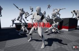ue4商城资源Ninja Pro – MoCap Pack忍者职业动态捕捉包