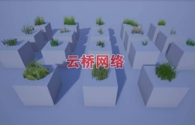 ue4商城资源Realistic Grass 1写实草1