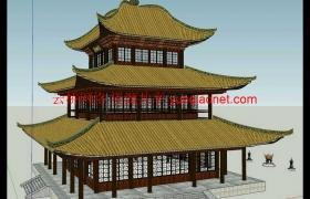 sketchup草图大师110套古建筑模型库
