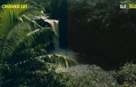 大疆无人机航拍DLog视频调色LUTs预设