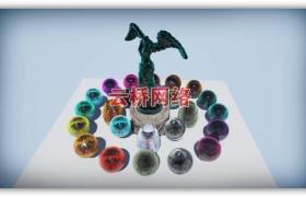 ue4商城资源Advanced Glass Shader水晶玻璃材质
