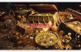 ue4商城资源Ancient Treasures黄金宝藏资源