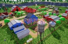 ue4商城资源Stylized Farm Village风格化农庄