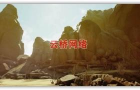 ue4商城资源Arid Desert干旱沙漠场景