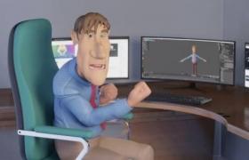 blender创建角色动画视频教程 Creating a Finished Character Animation in Blender 2.9