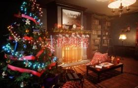 ue4商城素材资源  Motel Christmas汽车旅馆圣诞节
