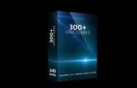 300组科幻电影镜头光晕光效视频素材