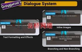 ue4商城资源Blueprint Dialogues蓝图对话