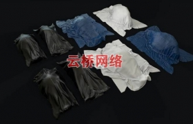 ue4商城资源Bodybags Collection收尸袋裹尸布
