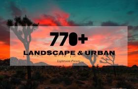 [旅行lr预设] 770组旅行摄影城市风景景观摄影Lightroom预设合集