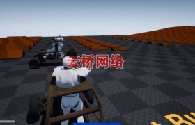 ue4商城资源Combat Buggy System战车系统