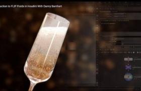 Houdini气泡流体特效制作视频教程 The Gnomon Workshop – Introduction to flip fluids in Houdini