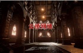 ue4商城资源Dark Temple黑暗寺庙