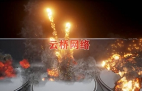 ue4商城资源Explosions Builder爆炸特效