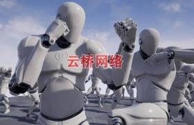 ue4商城资源Fighting Animset Pro打斗动作动画合集