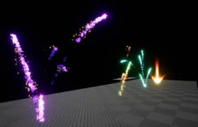 ue4商城资源Cartoony Impact – Stylized Particle Simulation #1卡通冲击-程式化粒子模拟#1