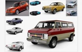 3D汽车模型合集包Car 3D Models Bundle November 2020