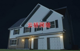 ue4商城资源HQ Residential House房屋住宅场景