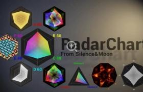 ue4商城资源Radar Chart雷达图
