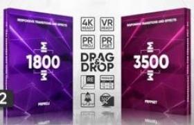 PR预设模板-5000+扭曲模糊冲击移动切割视频转场预设