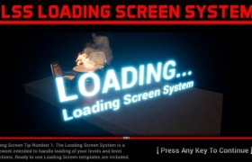 ue4商城资源Loading Screen System屏幕加载系统