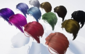 ue4商城资源Stylised Hair Shader样式化头发着色器
