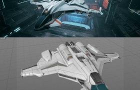 96套C4D游戏模型 《永恒空间》(Everspace)模型合集