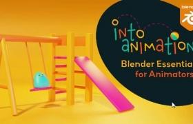 Blender动画教程 Into Animation: Blender Essentials for Animators