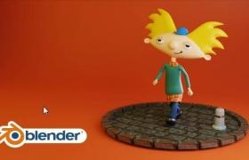 Blender创建卡通人物角色案例讲解
