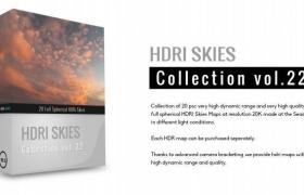 hdr天空环境贴图HDRI Skies – pack 22