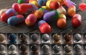 500多种专业的C4D Redshift材质 Gumroad – Redshift Shader Suite for C4D v4.0