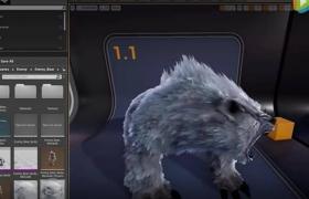 ue4毛发插件Unreal Engine 4 NeoFur 4.12