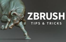《ZBrush 2018数字雕刻基础核心技能训练视频教程》中文字幕教程