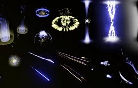ue4商城资源Scifi Particle Pack科幻粒子包