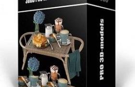 室内设计模型包 3DDD/3DSky PRO models – February 1 2021