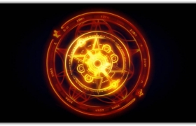 仙侠游戏打斗技能特效合成视频素材