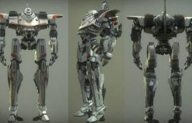 ue4商城资源Z-Mech Robot Giant机器人巨人