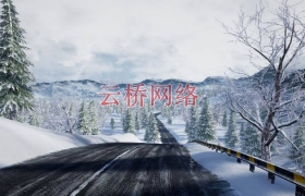"ue4商城资源""Racing Track"" Winter Landscape""赛道""冬季景观"