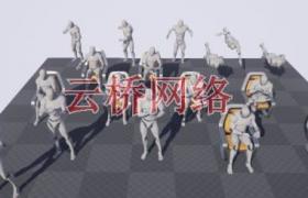 ue4商城资源 Phoenyx Anim Pack 3